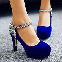 Sarairis/брендовые элегантные вечерние женские туфли на высоком