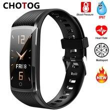 Bracelet intelligent Fitness Tracker podomètre Fitness Bracelet intelligent mesure de la pression artérielle fréquence cardiaque Ip67 Bracelet de Fitness