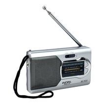 10PCS AM/FM Pocket Radio Receiver World Radio Receiver Mini Antenna Telescopic Battery Powered Portable Radio Receiver