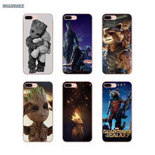 Soft TPU Covers Guardians of the For Galaxy Marvel For Xiaomi Redmi Note 2 3 4 5 5A 6 7 Mi 8 Pro Lite 9 SE 5S 5X 6X Pocophone F1(China)