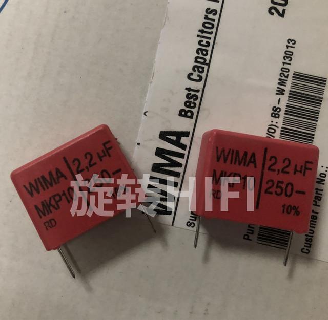4PCS RED WIMA MKP10 2,2 UF 250V p22.5mm original neue MKP 10 225/250V audio 2200nf film 225 PCM22.5 heißer verkauf 2,2 uf/250 v