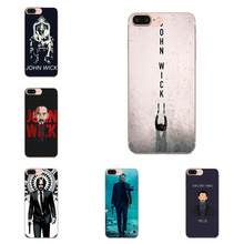 Soft TPU New Style For Xiaomi Mi3 Mi4 Mi4C Mi4i Mi5 Mi 5S 5X 6 6X 8 SE Pro Lite A1 Max Mix 2 Note 3 4 John Wick(China)