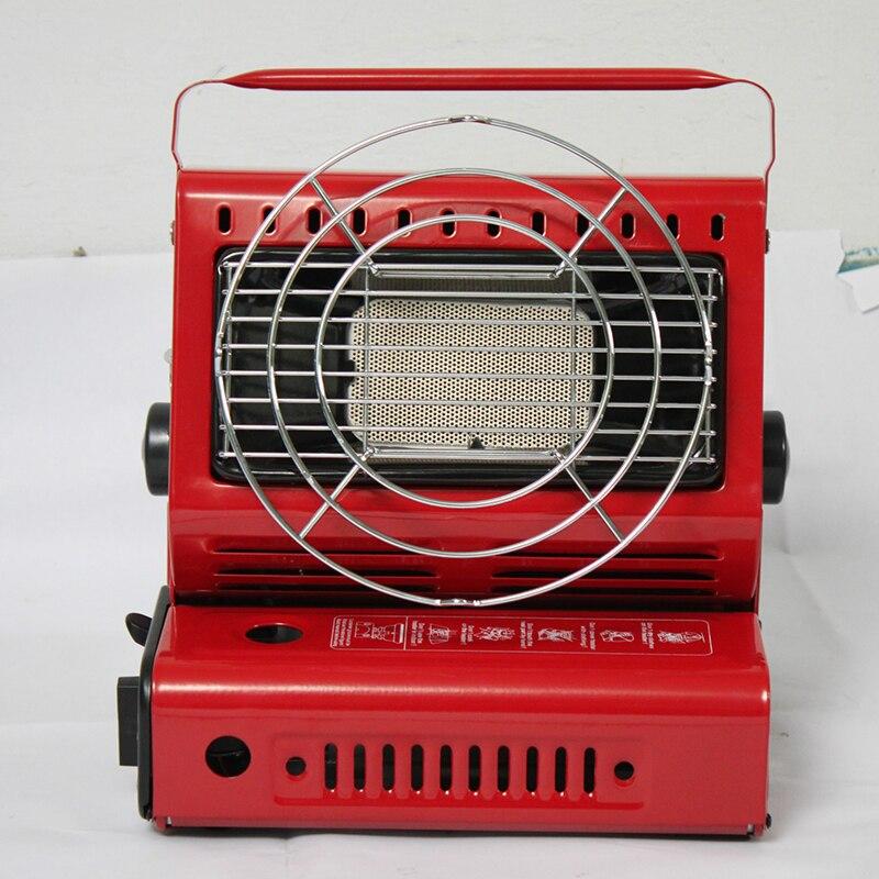 Cuisinière à chaleur extérieure en alliage d'aluminium Portable cuisinière extérieure Camping tente Portable chauffe-gaz poêle haute qualité voiture chauffage