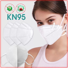 10PCS Dustproof Face Cover M/ask Adult Windproof Foggy Haze PM2.5 Pollution Respirator Anti-Dust non woven fabric Face Covers(China)