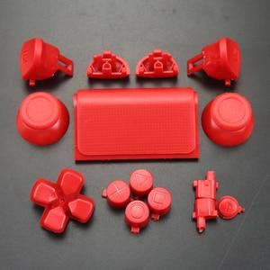 Image 5 - YuXi For Dualshock 4 PS4 Pro Slim Controller jds 040 jds 040 Dpad L1 R1 L2 R2 Trigger Buttons Analog  Joystick Sticks