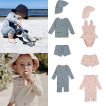 Swimwear-Sets Bikini Outfits Baby Girls Boys Kids Ks Brand Fashion Summer Cute Child