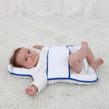 Newborn Baby Pillow Protect For Baby Sleeping Anti-rollover Positioning Pad Toddler Bed Care Supplies