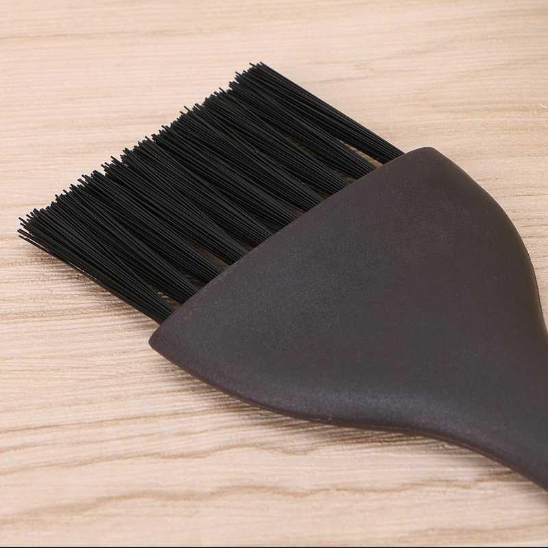 Novo 2 cores de cabelo profissional tingimento escova pente conjunto para salão beleza cabelo coloração pente cabelo tintura ferramenta conjunto