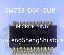 Новая модель 4735D60GU SI4735-D60-GUR 4735D6OGU SSOP24, 1 шт.