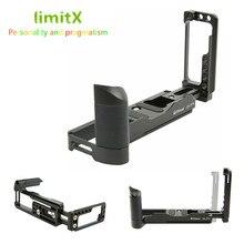 拡張調節可能な垂直クイックリリースlプレートホルダーハンドグリップ三脚用ブラケット富士フイルムX T4 XT4 デジタルカメラのみ