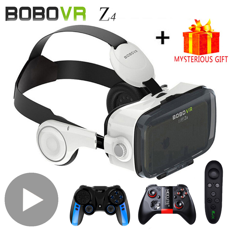 Bobovr Bobo VR Z4 3 D Viar 3D VR Glasses Virtual Reality Headset Helmet Goggles Lenses for Smart Phone Smartphone Casque Gaming