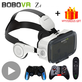 цена на Bobovr Bobo VR Z4 3 D Viar 3D VR Glasses Virtual Reality Headset Helmet Goggles Lenses for Smart Phone Smartphone Casque Gaming