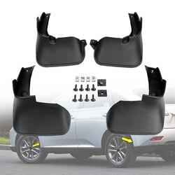 4 sztuk samochodów przednie tylne błotniki błotniki błotnik błotnik błotnik błotnik dla Lexus Rx Rx270 Rx350 Rx450 2009-2015
