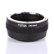 Fotga Lens Adapter  Mount Step Up Ring For Olympus OM Classic Manual Lens to Micro M4/3 Mount DSLR Camera Accessories