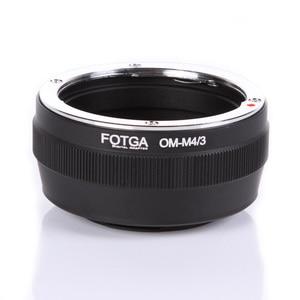Image 1 - Переходное кольцо Fotga для объектива Olympus OM, классическое ручное крепление для объектива Micro M4/3, Аксессуары для DSLR камеры