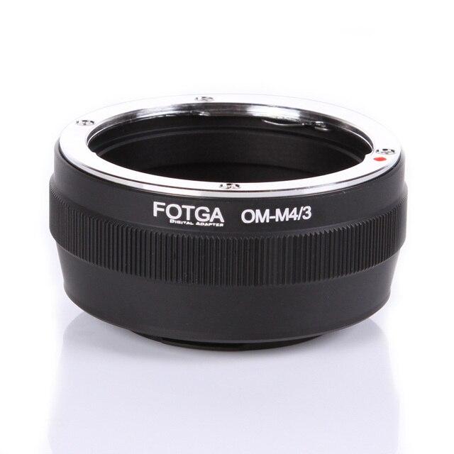 Переходное кольцо Fotga для объектива Olympus OM, классическое ручное крепление для объектива Micro M4/3, Аксессуары для DSLR камеры