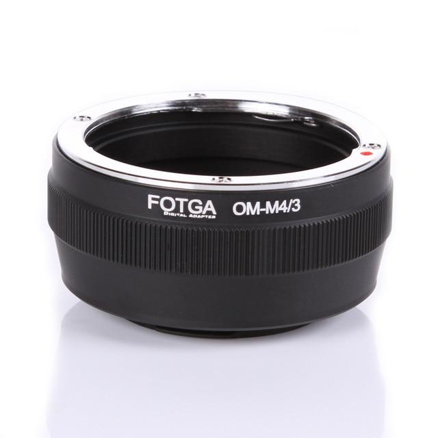 Fotga 렌즈 어댑터 마운트 올림푸스 om 클래식 수동 렌즈 마이크로 m4/3 마운트 dslr 카메라 액세서리 용 스텝 업 링