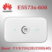 Desbloqueado huawei e5573 4g wifi modem E5573s-606 CAT4 4G LTE WiFi Router inalámbrico móvil wifi router 4g tarjeta sim con antena