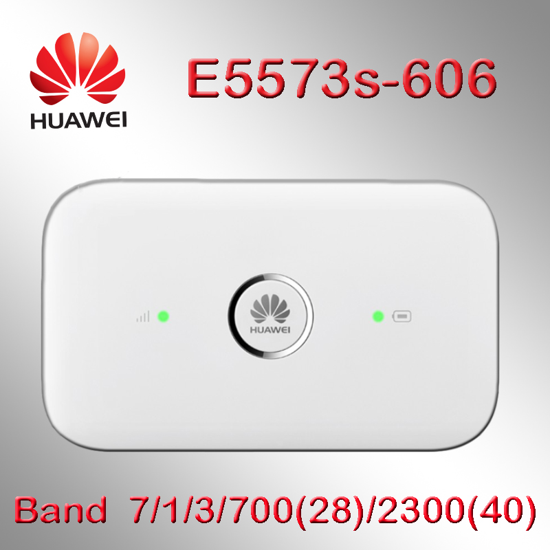Unlocked Huawei E5573 4g Wifi Modem E5573s-606 CAT4 4G LTE WiFi Router Wireless Mobile Wi Fi Router 4g Sim Card With Antenna