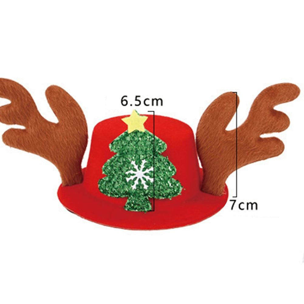 Halloween Bat Christmas Santa Snowman Hat Cap for Pet Cat