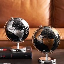 Home-Decoration-Accessories Globe Study-Desk-Decor Geography World-Map Education Retro