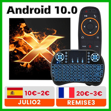2020 VONTAR X1 חכם אנדרואיד טלוויזיה תיבת אנדרואיד 10 TVbox מקסימום 4GB RAM 64G הכפול Wifi 4K 60fps BT5.0 Youtube ממיר pk T95 H96 מקסימום