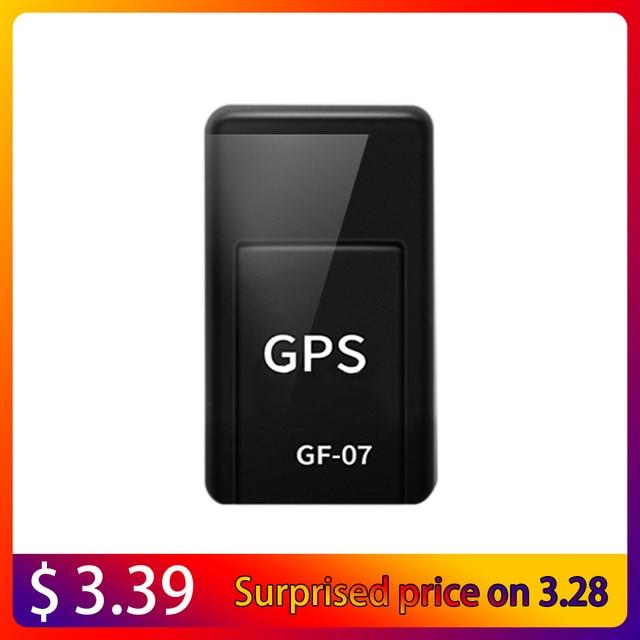 GF07 Magnetic Mini Car Tracker GPS Real Time Tracking Locator Device Magnetic GPS Tracker Real-time Vehicle Locator 1