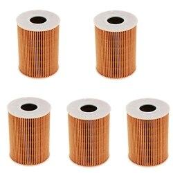 5 sztuk olej silnikowy filtry Mahle 94810722200 dla 911 Cayenne V8 Panamera 3.8L