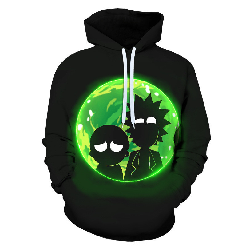 Rick And Morty 3D Sweatshirts Men Women Hoodies Printed Hoodies Male Pullover Autumn Winter Tracksuits Funny Cartoon Streetwear