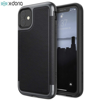 X-Doria Defense Prime Phone Case For iPhone 11 Pro Max Military Grade Drop Tested Case Cover For iPhone 11 Pro Aluminum Cover