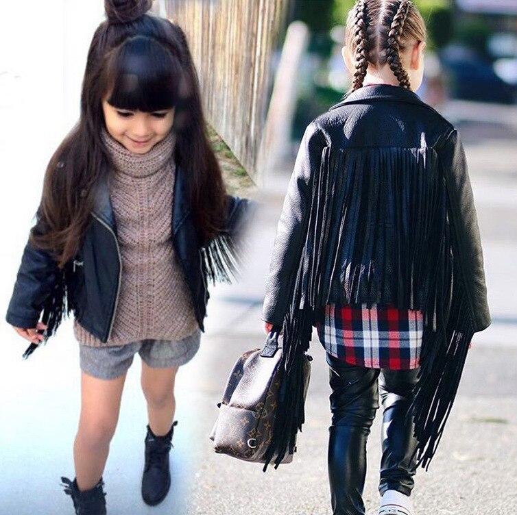 Children Autumn Jacket 2021 Leopard Toddler Girl Coat Kids PU Leather Clothes Baby Boys Girls Short Jackets Zipper Coats Outwear 5