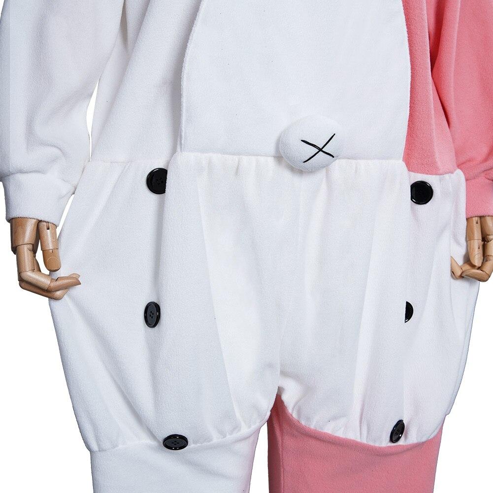 Danganronpa Dangan Pajamas - Monokuma Monomi Cosplay Costume Jumpsuit