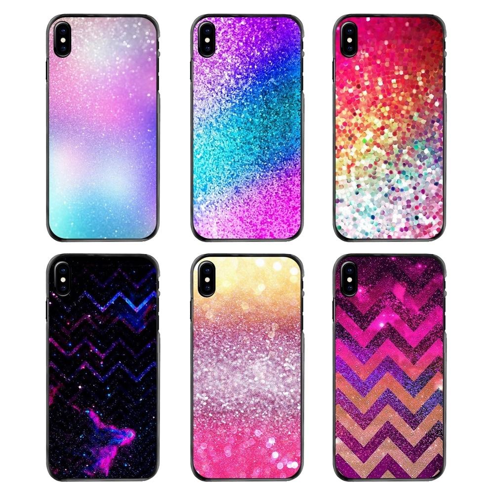 Colorful Sparkle Glitter diamond crystal Pastel Covers For LG G6 L90 V20 Nexus 5X 6P K10 Moto E E2 E3 G G2 G3 G4 G5 PLUS X2 Play