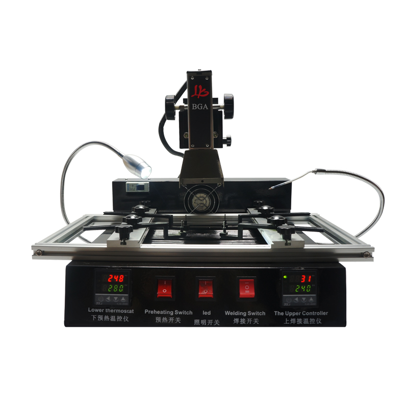 Tools : LY M770 BGA Rework station The most economic upgraded IR bga model rework machine 220V 2 zones manual operation 1900W
