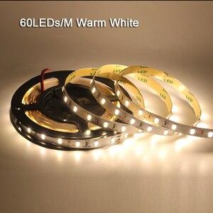 Image 5 - 120 leds/m 5 m 5630 led luz de tira 12 v dc flexível led luz 600led 300led pixel fita não impermeável led lâmpada de natal