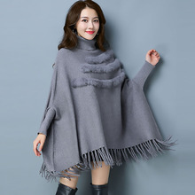 Fall 2019 New High-end Womens Shawl Knitting Fashion Swaters Winter