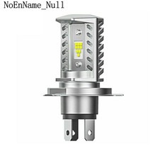 H4 15W CSP 9SMD LED Motorcycle Headlight Bulb HID Hi/Low Beam 1600LM High Power Soft light, anti-corrosion