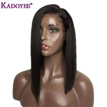 2019 Side Part Lace Front Human Hair Wigs Brazilian Remy Hai