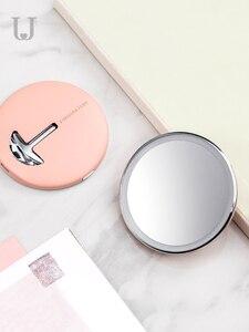 Image 5 - Youpin Hd Make Up Spiegel Met Led Kleur Blauw Licht Cosmetische Spiegel Mini Draagbare Touch Control Sensing Spiegel Voor Schoonheid Make Up