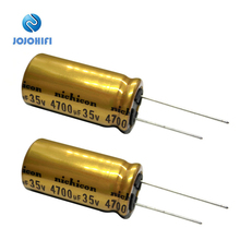 Nichicon FW 35V 4700uF 18x35.5mm Pitch 7mm 85 ℃ Capacitors 4700UF/35V Audio Filter Electrolytic Capacitor конденсатор nichicon kg super through 16v 4700uf
