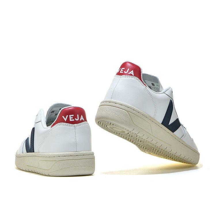 Authentique Veja Top qualité mode portable hommes baskets en forme de V classique respirant lumière femmes chaussures de marche Couple chaussures