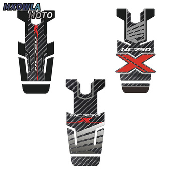 цена на For  NC750X NC 750X NC700 NC700X Motorcycle Parts Tank Pad Carbon Fiber Oil Fuel Gas Tankpad Decal Protector Sticker