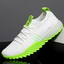 Large Size Breathable Knitted Sneakers Comfort Womans Trainers Running Shoes Lad
