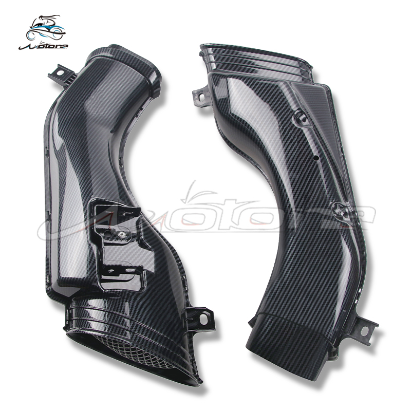 Motorcycle Air Intake Tube Duct Cover Fairing For GSXR600 GSXR 600 750 2001 2002 2003 GSXR1000 1000 2001 2002 K1 K2 K3 Carbon