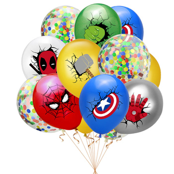 55 x 63CM 3D Spiderman Iron Man Hero Aluminum Foil Balloons Birthday Party Decoration Baby Shower Supplies Globos 4
