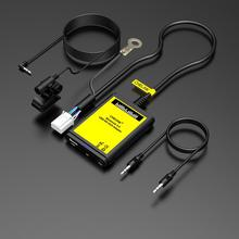 Преобразователь CD CHELINK с микрофоном и вспомогательным кабелем 3,5 мм, Автомобильный MP3-плеер, радио, вход AUX и USB, адаптер для Toyota