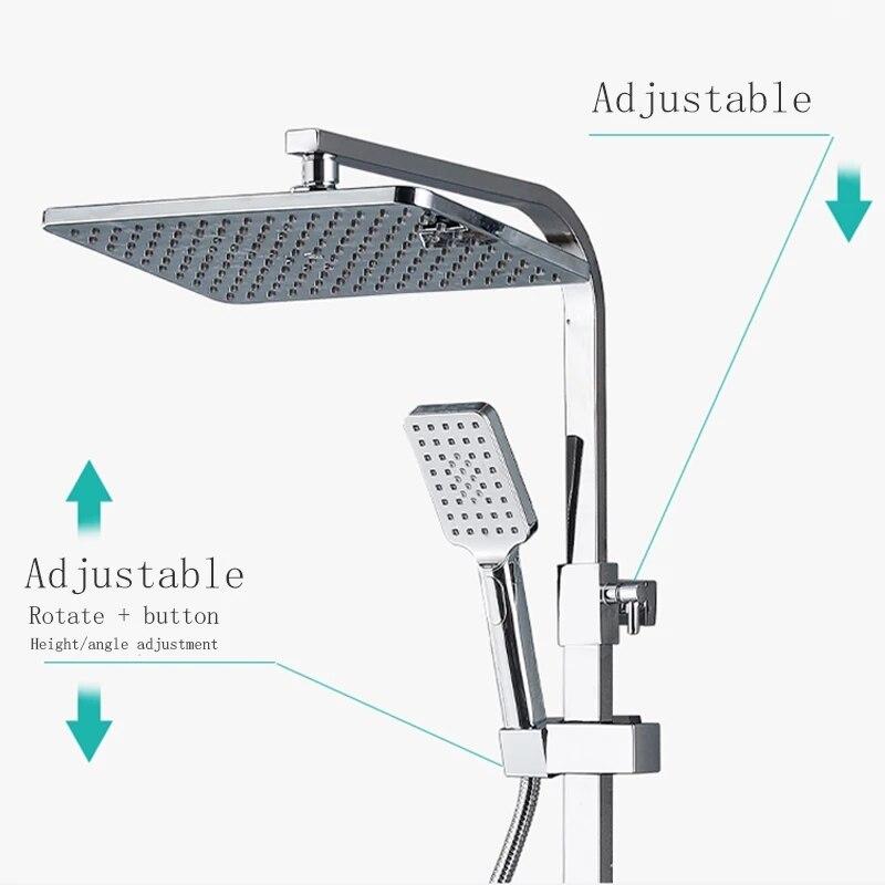 H14948f15b7d348b3bbdd86f96486707e4 Chrome Thermostatic Digital Display Shower Faucet Bathroom Shower Faucet Rain Shower Bath Faucet Bathtub Faucet Bidet Faucet