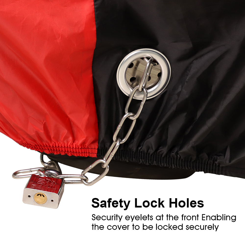 Image 5 - Motorcycle Cover All Season Waterproof Dustproof UV Protective 