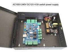 TCP IP dwa kontroler dostępu do drzwi zestaw z przypadku zasilania 110 V/220 V wielu dostęp do funkcji ogień alarm. sn: B02 set w Zestawy do kontroli dostępu od Bezpieczeństwo i ochrona na