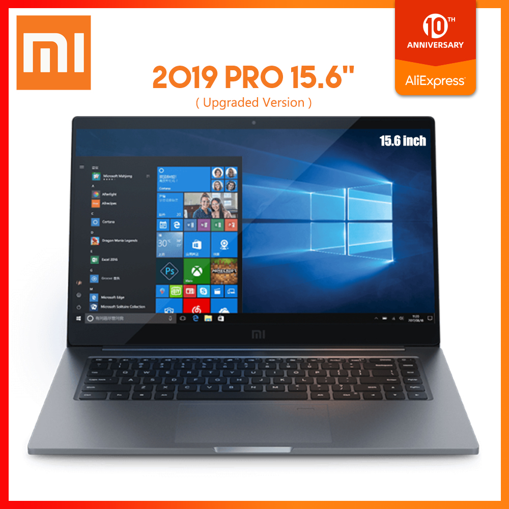 Ordinateur portable d'origine Xiaomi Pro 15.6 pouces Windows 10 Intel Core i5 8250U i7 8550U 8GB RAM 256GB 512GB SSD ordinateur portable
